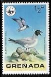 Sellos del Mundo : America : Granada : Black-headed Gull