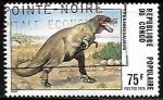 Sellos del Mundo : Africa : República_del_Congo :  Tyrannosaurus