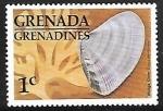 Sellos de America - Granada -  Toothed Donax