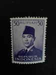 Stamps Indonesia -  Personajes