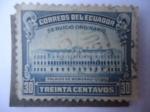 Stamps Ecuador -  Palacio de Gobierno de Quito