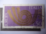Stamps : Europe : Italy :  Europa- C.E.P.T.