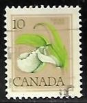 Sellos del Mundo : America : Canadá : Orquideas
