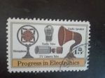 Stamps America - United States -  Electronica
