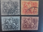 Stamps Europe - Portugal -  Caballeros Mediavales