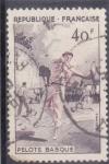 Stamps : Europe : France :  PELOTA VASCA