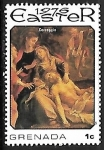 Sellos de America - Granada -  Pascua - pintura