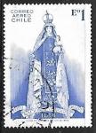 Stamps Chile -  Virgen del Carmen