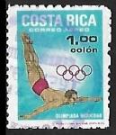 Sellos de America - Costa Rica -  Juegos Olímpicos  de Mexico'68