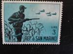 Sellos de Europa - San Marino -  Caza