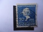 Sellos de Europa - Dinamarca -  Cuentos de Hadas del Escritor Danés, Hans CHristian Andersen (1805-1875)