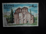 Sellos de Europa - Grecia -  Monumento