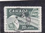 de America - Canadá -  BOBINAS DE PAPEL