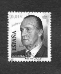 Stamps : Europe : Spain :  Edf 3857A - S.M. Don Juan Carlos I