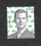 Stamps : Europe : Spain :  Edf 5119 - S.M. Don Felipe VI