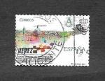 Stamps Spain -  Capital Mundial del Motociclismo