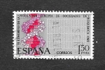 Stamps Spain -  Edf 1920 - VI Congreso Europeo de Bioquímica