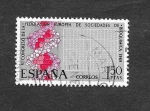 Stamps Spain -  VI Congreso Europeo de Bioquímica