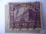 Stamps Nicaragua -  Palacio Nacional Managua
