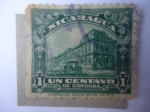 Sellos de America - Nicaragua -  Palacio Nacional Managua