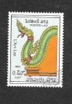 Sellos de Asia - Laos -  601 - Dragón