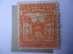 Stamps Guatemala -  Arco del Edificio de Comunicaciones