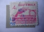 Stamps Guatemala -  Centro Cultural Miguel Ángel Asturia