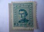 Stamps Uruguay -  General, José Artigas