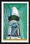 Sellos de America - Dominica -  Viking Mission to Mars