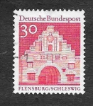 Stamps Germany -  Monumentos