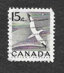 Stamps : America : Canada :  Gaviota