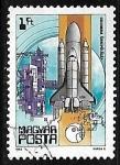 de Europa - Hungría -  Columbia shuttle, 1981
