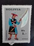 Sellos de America - Bolivia -  Personajes