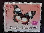 Sellos de Asia - Yemen -  Fauna