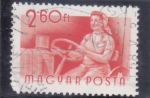 Stamps : Europe : Hungary :  TRACTORISTA