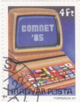 Stamps : Europe : Hungary :  COMNET-85