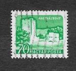 Stamps : Europe : Hungary :  Castillo de Kinizsi