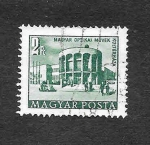 Stamps : Europe : Hungary :  Casa de la Cultura