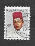 de Africa - Marruecos -  Hasán II de Marruecos