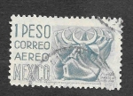 de America - México -  Danza de la Media Luna