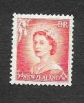 de Oceania - Nueva Zelanda -  Reina Isabel II
