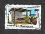 de Africa - Rwanda -  80º Aniversario de la Protección y Conservación del Suelo