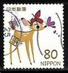 Sellos del Mundo : Asia : Japón : Bambi