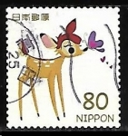 Stamps Asia - Japan -  Bambi