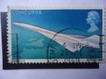 de Europa - Reino Unido -  Primer Vuelo del Concorde - Concorde en Vuelo