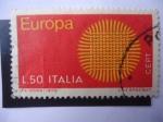 de Europa - Italia -  Europa - C.E.P.T. 1970 - Unión Postal