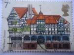 de Europa - Reino Unido -  The Rows-Ciudad de Chester-Año de Herencia Arquitectónica - Chaster-Europa.