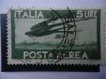 Stamps Europe - Italy -  Vuelos de golondrinas