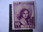 Stamps Europe - Switzerland -  Pro Juventud - Joven de Santa Gallen - Costumbres y Tradiciones - Trajes