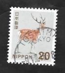 de Asia - Japón -  6928 - Ciervo